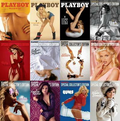 Playboy Special Editions Magazines 660+ Issues (5 DVDs) + Extras + Penthouse USA