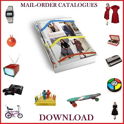 1980s FREEMANS MAIL-ORDER CATALOGUE DOWNLOAD FASHION ELECTRICAL HOME