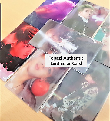 BTS Wings Concept Book Lenticular Card Only KPOP with Free Gifts
