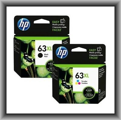 HP 63XL High-Yield Single Ink Cartridge in Box (Black or Color), EXP FEB 2020 !