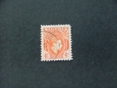 Nigeria KGVI 1938 4d orange SG54 G-FU