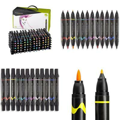Prismacolor Premier Assorted Tip Black Marker Set Of 7