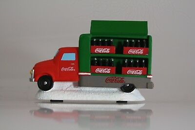 Coca Cola - Town Square Collection - Red And Green Delivery Truck With Bottles