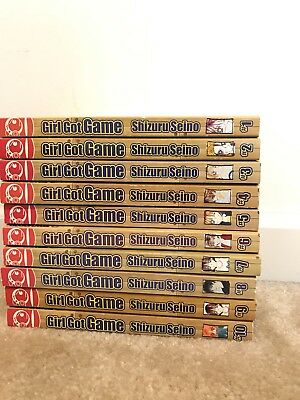 Manga Series Girl got Game