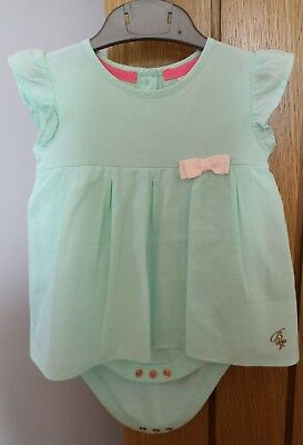 Baby Girl TED BAKER Top with integrated vest 9-12 months