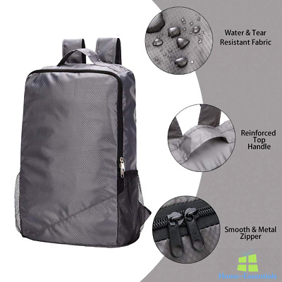 b44c22e8f0 Packable Backpack Water Resistant Bag Ultra Lightweight School Travel  Daypack