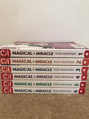 "Manga Series ""Magical Miracle"" Complete 1-6"