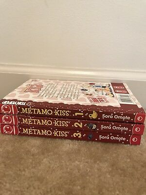 "Manga series ""Metamo Kiss""  1-3"