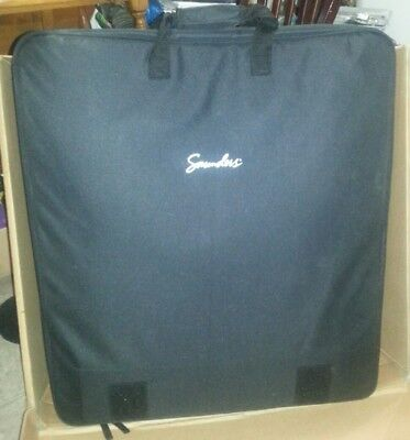 SAUNDERS LUMBAR BACK TRACTION portable HOME UNIT