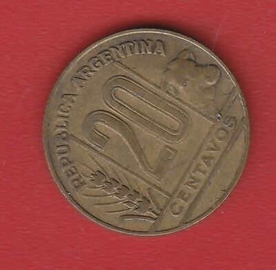 Argentina 20 Cents 1949