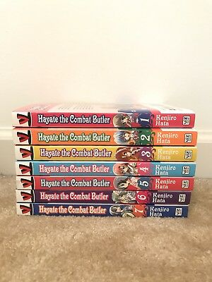 "Manga Series ""Hayate The Combat Butler"" 1-7"