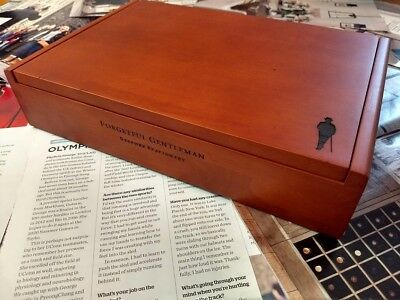 Forgetful Gentleman Stationary Pen Wooden Box