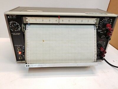 Vintage HP 7100B 10 Inch Strip Chart Recorder