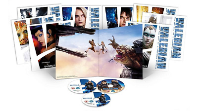 Valerian 3D (Exclusive Limited Big Sleeve Edition Blu-ray Sleeve) [UK]