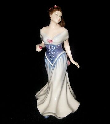 """Royal Doulton """" For You """" Lady Figurine*signed Michael Doulton 1998*hn 3754"""
