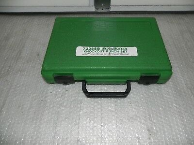 "GREENLEE 7238SB Case only 1/2 - 2"" with Wrench & two draw stud."