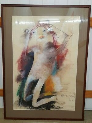 Pastel  by Anne Hall 1966. Wife of John Perceval.
