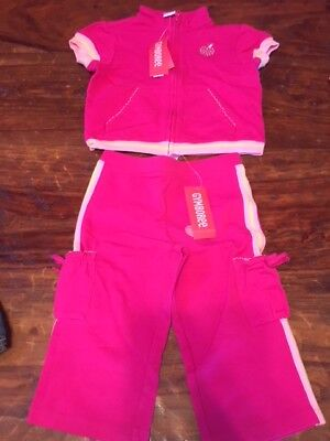 Nice Nwt Gymboree Candy Apple Apple Tree Pink Capris 2t Baby & Toddler Clothing