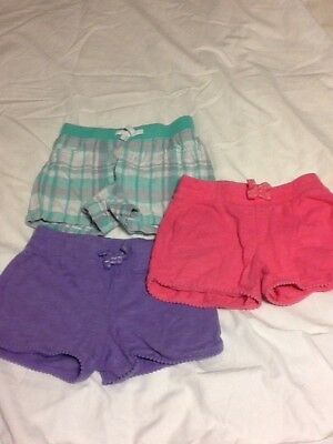 Toddler Girls Shorts, Lot of 3, from Jumping Beans, Size 4T
