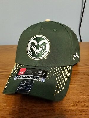 a0eaf568207 Under Armour NCAA Colorado State Rams Renegade Adjustable Hat Forest Green