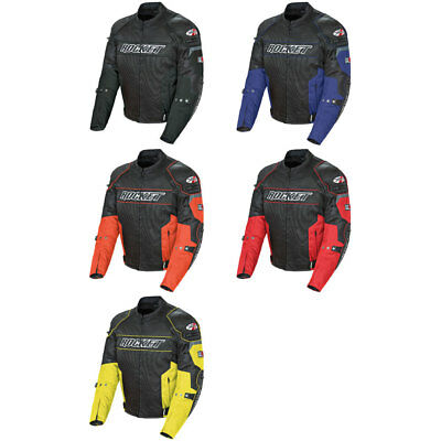 2018 Joe Rocket Mens Honda VFR Textile Motorcycle Jacket Pick Size//Color