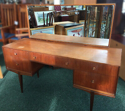 Superb Mid Century Dressing Table by  A. H. McIntosh & CO LTD Kirkcaldy Scotland