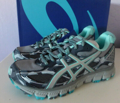 pretty nice 7d465 e874a ASICS T6K7N 1193 Gel Scram 3 Stone Grey Women's Running Shoes Size 6 US New
