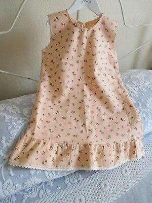 Vintage Lingard's Childrens Wear UK 50s 60s Flannel Dress Nightgown NWOT