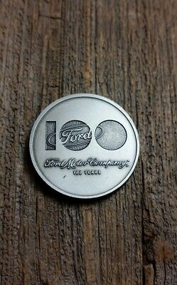 Ford Motor Co 100th Anniversary Celebration Coin - The Road Is Ours - 2003 -