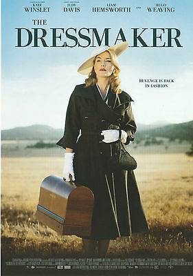Promotional Movie Sheet - THE DRESSMAKER (2015) (Kate Winslet, Liam Hemsworth)