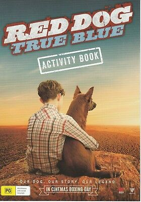 Promotional Movie Flyer - RED DOG: TRUE BLUE (2016) ***Bryan Brown***