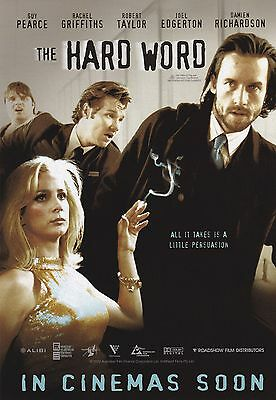 Promotional Movie Sheet - THE HARD WORD (2002) (Guy Pearce, Joel Edgerton)