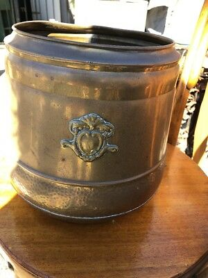 Antique Brass Pot