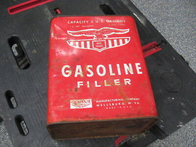 Eagle 2 Gallon Gas Can With Spout - Free Shipping