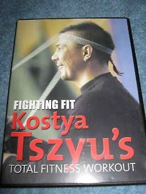 Fighting Fit:  KOSTYA TSZYU'S Total Fitness Workout DVD