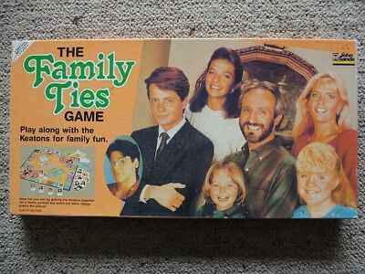 The Family Ties Game - Vintage Board Game 1987 John Sands - Complete