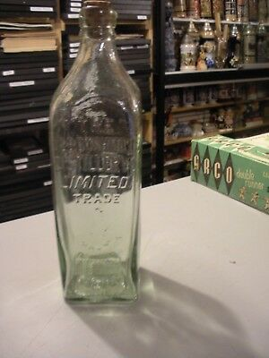 Vintage Bushmill's Irish Whiskey Bottle, The Bushmill Distillery, Mark, Copper
