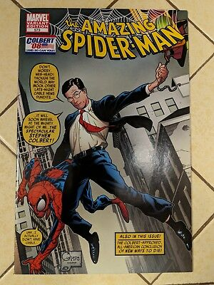 The Amazing Spiderman # 573, Colbert Variant 2008, Marvel Comic Book High Grade!