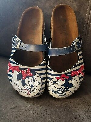 5efcccea1a5d42 Disney Birki s by Birkenstock Shoes⚓Nautical⚓Mickey   Minnie 32 1 1.5  ADORABLE