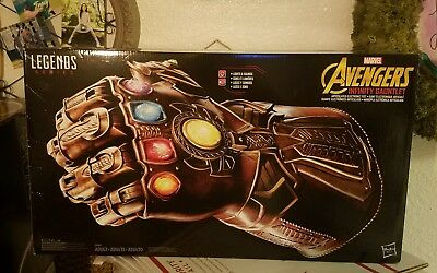 MARVEL Legends Series INFINITY GAUNTLET THANOS Articulated Electronic Glove FIST