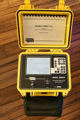 Riser Bond 1205CXA TDR Cable Fault Locator Immaculate Condition Plus Accesories