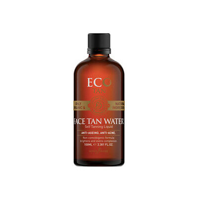 Free Postage - Face Tan Water By Eco Tan - Natural, Organic, Vegan