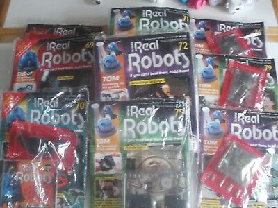 job lot ultimate real robot magazine NEW & SEALED lot of 9