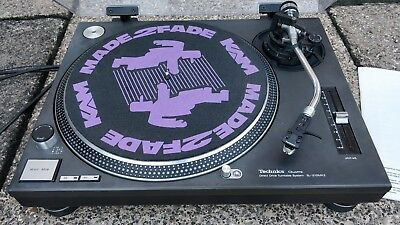 Technics SL-1210MK2 Turntable excellent condition upgraded leads