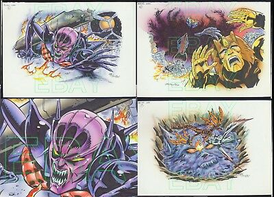 LEE SULLIVAN Bot Con 2000 ORIGINAL artwork TRANSFORMERS  story HERALD L@@K