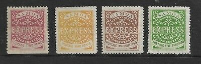 SAMOA 1877-90 2d 9d 2/- AND 5/- UNUSED  PLEASE LOOK   MY REF 315