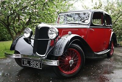 Stunning 1937 Riley 9 Monaco six-light saloon with dual overdrive, ready to show