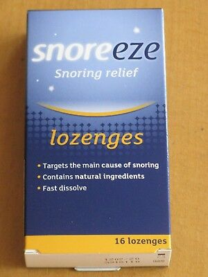 Snoreeze Lozenges  X 16 For Snoring Relief