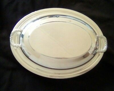 Silver Plated Serving Dish Vintage
