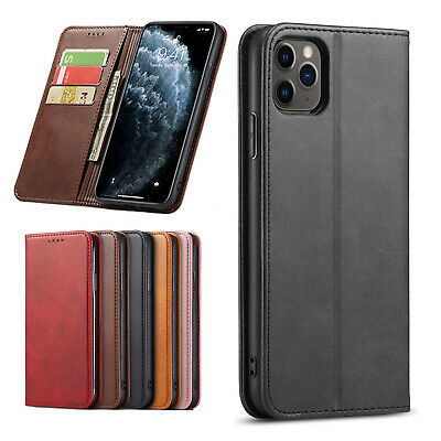 iPhone XS Max XR iPhone 8 Plus iPhone 7 Plus 6 Luxury Leather Wallet Case Cover